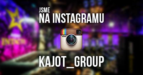 Sdílejte s námi svoje zážitky i na Instagramu