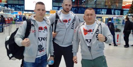 "Jiří ""Denisa"" Procházka na turnaji MMA"