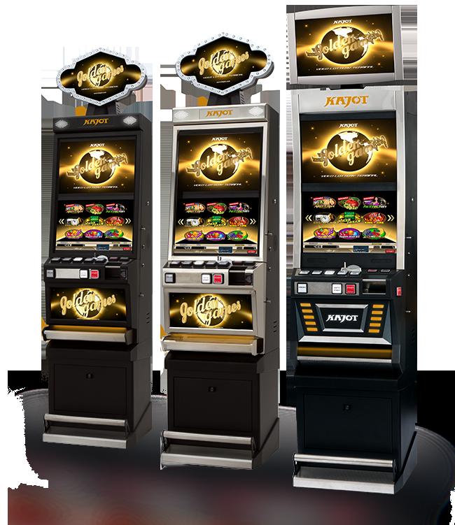 Herní systémy - KAJOT Golden Games