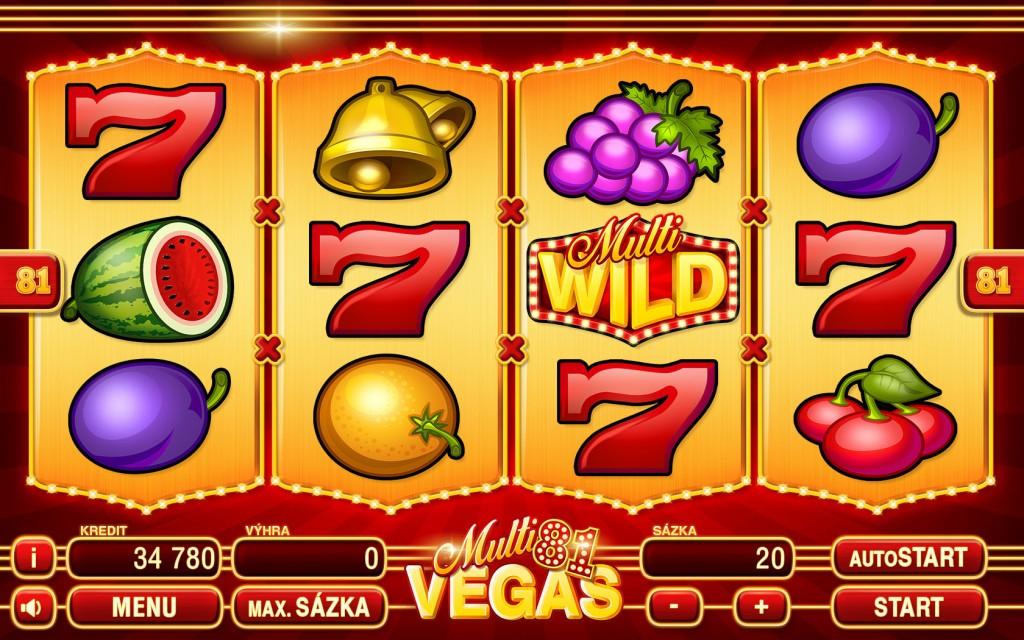 KAJOT RED PLANET hra Multi Vegas