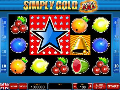 SIMPLY GOLD XXL