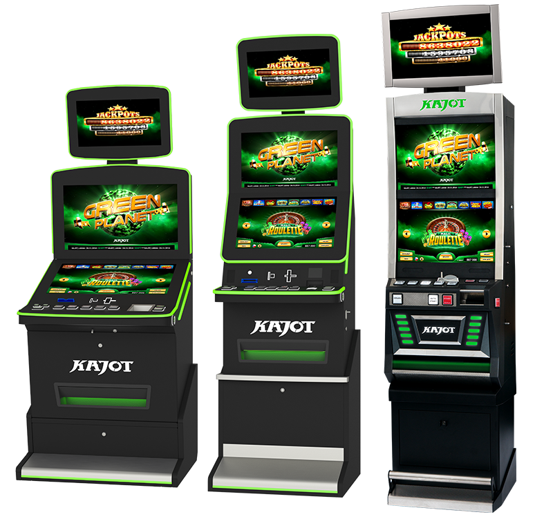 Herní systémy - KAJOT Green Planet